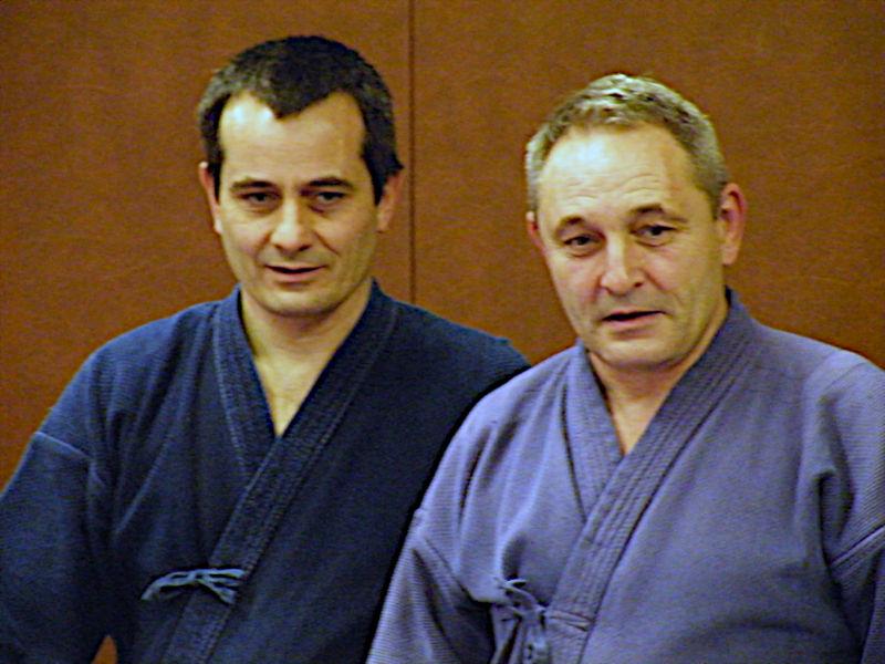 Benoît Lepeltier et Dominique PierreFEI