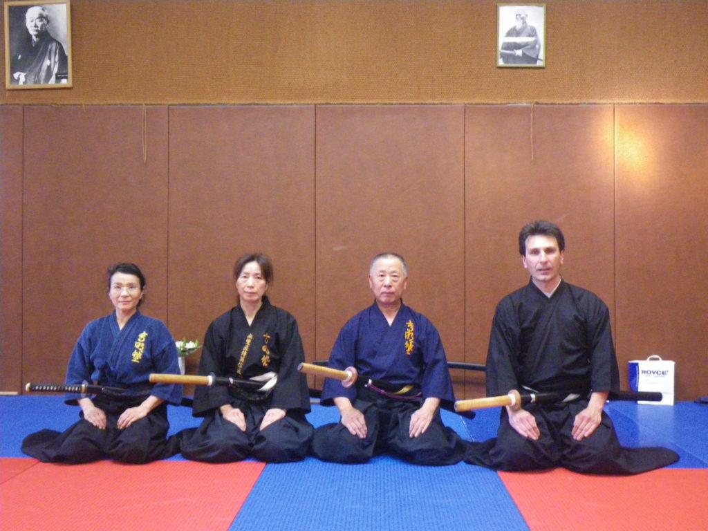 Komei Sensei au CODAM Iaido 2011