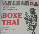 Belloni Gym - ancien club de Boxe Thaï sur Paris