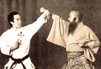 Maitre Ogura Tsuneyoshi, dépositaire du Tode